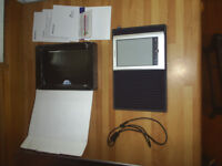 Sony Ebook Pocket Edition Touch Screen with Stylus and Proporta Case Perfect Condition