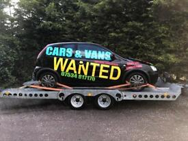 Cash 4 CARS ,Vans,truck,Trailors eny age Eny condition cash or bank transfer paid on collection