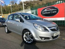 2008 (08 reg) Vauxhall Corsa 1.2 i 16v SXi 5dr Hatchback Petrol 5 Speed Manual