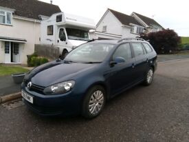 VW Golf Estate 1.6 tdi Blue Motion 11 Reg