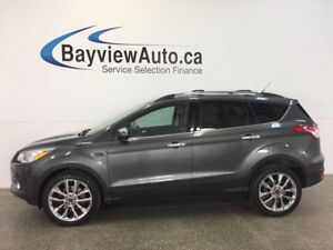 2015 Ford ESCAPE SE- ECOBOOST 4WD PANOROOF HTD STS REV CAM SYNC!