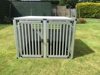 WT Metall double dog cage