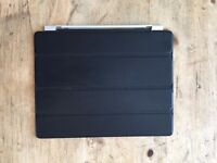 Apple Leather Smart Cover for iPad 1,2,3 - Black