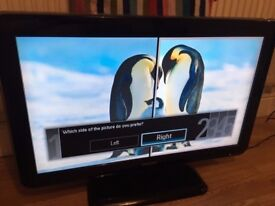Philips 32 inch LCD TV - PERFECT CONDITION - 50,000:1 Contrast Ratio - 3x HDMI ports