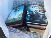 Bag of DVDS - Great for carbooters