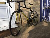 ALMOST NEW Carrera Racing Road Bike (Cycle, Bicycle, Street,Speed,carbon fibre)