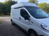 2008 Vivaro High Roof - Camper conversion project (to finish)