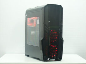 New Gaming Computer PC FAST Quad Core 8GB 1TB G Force R Gaming Windows 7