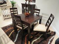 THE MINI LOFT TABLE & SIDE CHAIRS