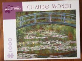 1000 Piece Puzzle - Claude Monet