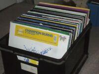 "130 x 12"" Trance / Electro / 90's / Hard House Vinyl Collection."