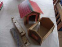Vintage ELC Farm set pieces