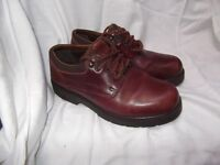 Three Pairs of Mens Clark Shoes Size 8