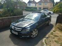 Mercedes c220 amg sport Coupe Pan roof low miles
