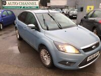 Ford Focus 1.8 TDCi Titanium 5dr£2,385 p/x welcome NEW MOT .TOP OF THE RANGE !