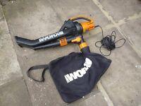 Worx WG501E 3000W Blower/ Mulcher and Vacuum