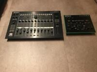 Roland Aria mixer and VT-3 vocoder/vocal processor