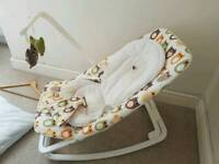 Baby bouncer, baby seat, rocking bouncy for babies £20