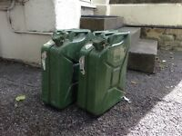 Jerry cans 20l VG condition £15 each