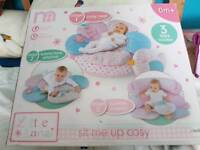 Mothercare sit me up cosy / baby ring