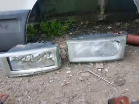 Iveco daily headlights. Good condition