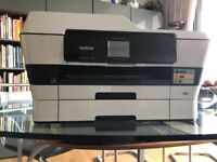 Brother A3/A4 printer, Scanner, Copier with cartridges & Users Guide