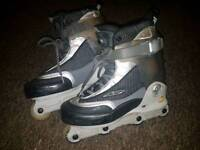 K2 Natural aggressive skates uk7