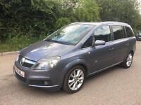 Vauxhall Zafira 1.9 CDTi 16v Design 5dr HPI CLEAR+6 MONTHS WARRANTY