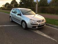VW golf 1.9 TDI diesel long mot £30 road tax per year