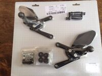 MV Agusta F4 / Brutale Rearsets Brand new in packet