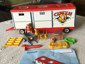 Circus Trailer Playmobil and accessories