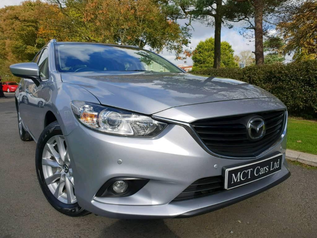June 2015 Mazda 6 2.2d SE-L Estate, £20 Road Tax! One Owner! Beautiful Car! Mazda  Service History!