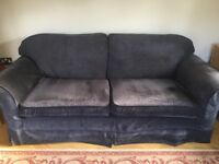Laura Ashley Charcoal grey large sofa