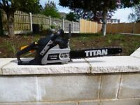 nearly new chainsaw