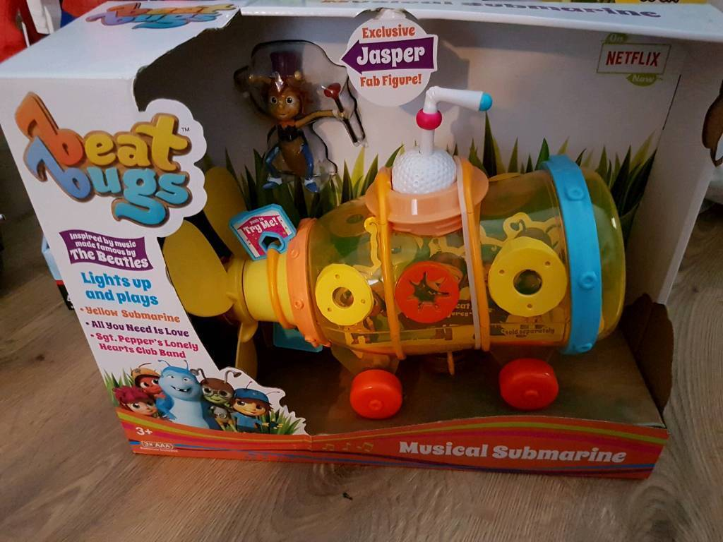 Beat bugs musical and light up yellow submarine brand new | in ...
