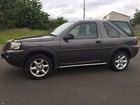 Land Rover freelander 1.8 xei 54reg low miles 70k facelift model 4wd