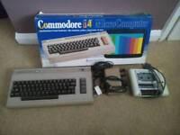 Commodore 64 (c64) with accessories - retro gaming