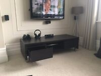 Wenge colour Sideboard, desk, small cabinet and TV unit