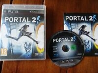 PLAYSTATION 3 GAME FOR SALE PORTAL 2 EXCELLENT CONDITION WITH INSTRUCTION MANUAL PS3