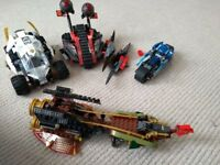 Lego Ninjago vehicles bundle