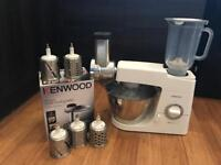 Kenwood Classic Chef + mincer and other attachments