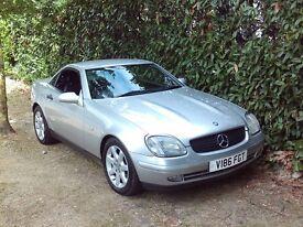 Mercedes-Benz SLK Slk230 Kompressor (aluminium silver) 2000