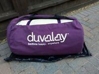 2 x duvalay sleepinug bags