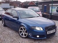 57 REG AUDI A4 1.9 TDI S LINE FULL HISTORY REMAPPED BY REVO P-X WELCOME