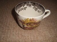 Palissy Game Series various size cups and saucers in excellent condition.
