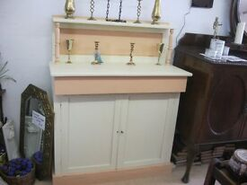 VINTAGE ORNATE VERSATILE DRESSER ~ CHIFFONIER. CHALK PAINTED. VIEWING/DELIVERY AVAILABLE