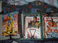 2000 Ad Comics job lot of 116 progs