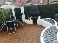 Two bed Victorian Terrace, fully Furnished, Central Exeter