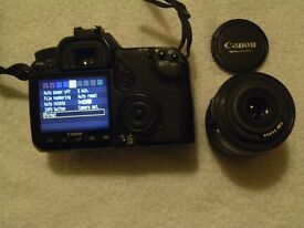 CANON SEMI-PROFESSIONAL EOS 40D DIGITAL SLR CAMERA OUTFIT
