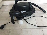 Ts50 spray tan machine with Helia gun